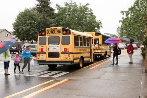 The first day of school for Woodland Public Schools is Tue., Sept. 5, 2017. Photo courtesy of Woodland Public Schools