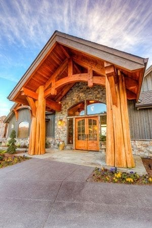 Arrow Timber Framing offers values and artistry