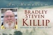 In Memoriam: Bradley Steven Killip