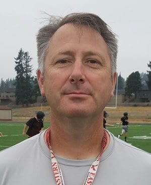 Washougal coach David Hajek has the Panthers 4-0 heading into this week's game at Ridgefield. Looming on the schedule the following week is a matchup with Hockinson, which is also undefeated. Photo by Paul Valencia