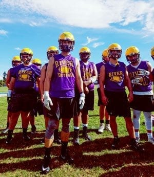 After a Week 1 loss to Evergreen, Columbia River must now face a tough Tumwater team this week. Photo by Paul Valencia