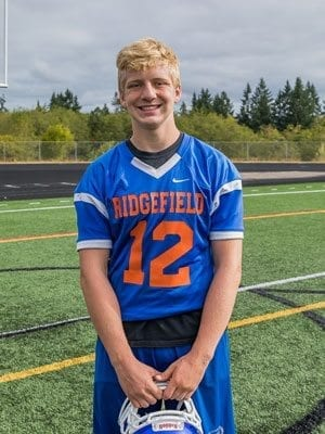 Ridgefield quarterback Dawson Lieurance had several key plays in the Spudders' Week 3 loss to La Center. Photo by Mike Schultz
