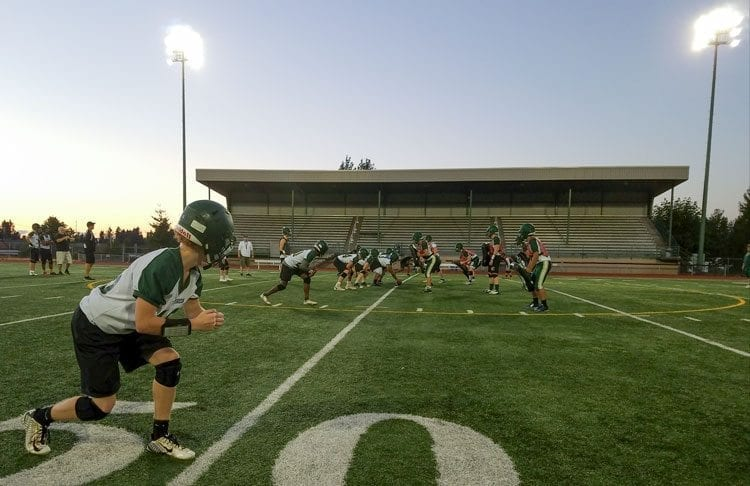 Evergreen doubled up Columbia River last week and this week the Plainsmen will meet Heritage. Photo by Paul Valencia