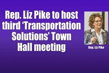 Rep. Liz Pike to host third 'Transportation Solutions' Town Hall meeting