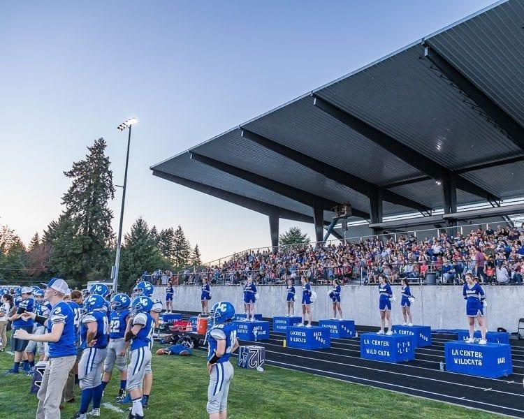 New La Center Football Stadium. Photo by Mike Schultz