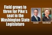 Field grows to three for Pike's seat in the Washington State Legislature