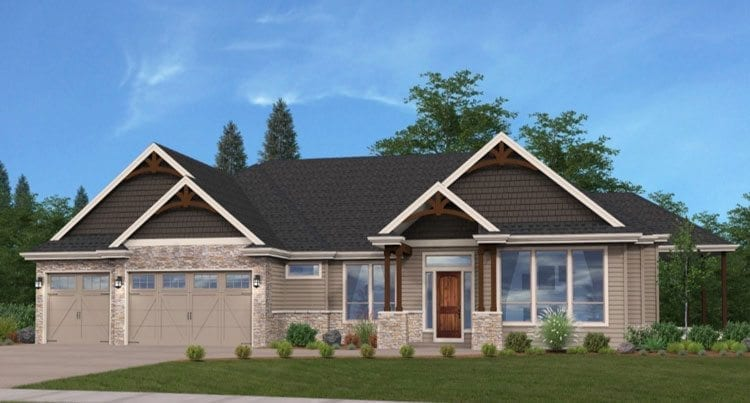 Cascade West Development's Genesis is a multi-generational home that offers duplicate full amenities to accommodate extended family living under one roof. Photo courtesy of NW Natural Parade of Homes