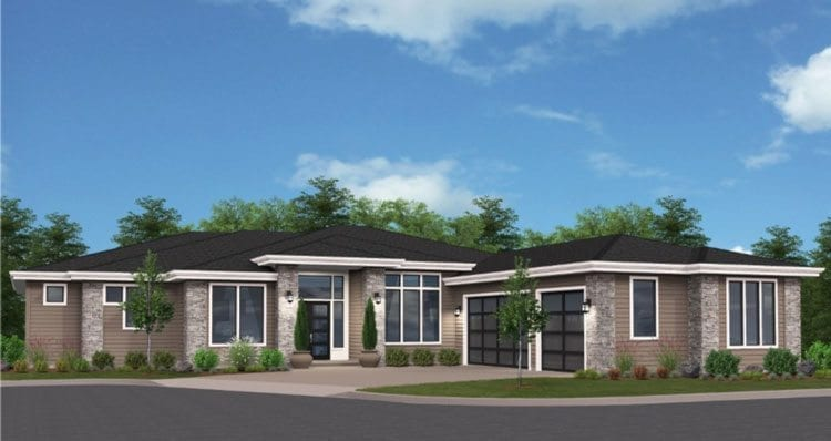 """Cascade West Development's Turtledove was designed to give """"snowbird"""" couples a home in which to settle down. Photo courtesy of NW Natural Parade of Homes"""