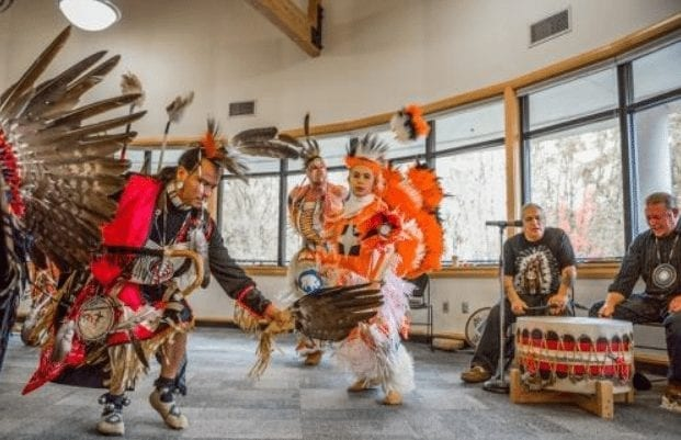 Community members are also invited to attend a Pow Wow from 5 to 10 p.m., Friday, Nov 3, at Clark College's Gaiser Hall Student Center, highlighting traditions and customs that practice living in harmony with all things. Photo courtesy of city of Vancouver