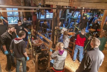 Area residents flock to Cedar Creek Grist Mill for annual apple cider pressing event