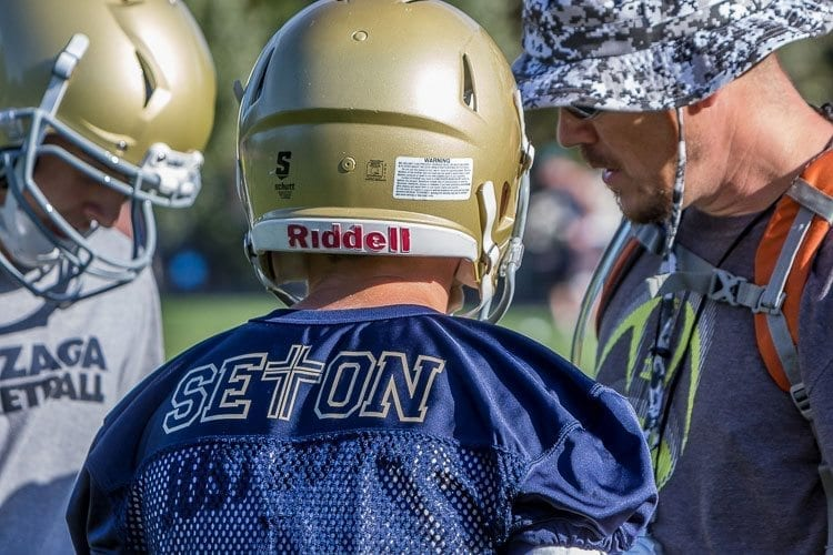Seton Catholic will attempt to even its Trico League record at 1-1 when the Cougars travel to play at White Salmon Friday. Photo by Mike Schultz