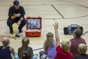 Woodland Middle School partners with local paramedics to teach students emergency preparedness