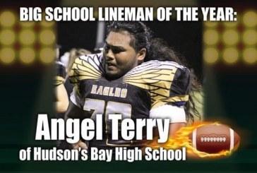Big School Lineman of the Year: Angel Terry of Hudson's Bay High School