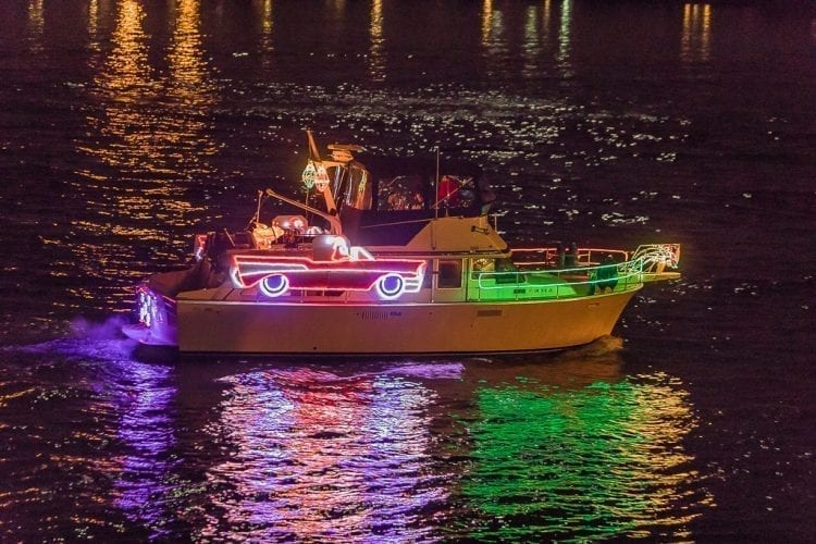 The annual Christmas Ships Parade will begin its series of evening parades on the Columbia and Willamette Rivers on Fri., Dec. 1.