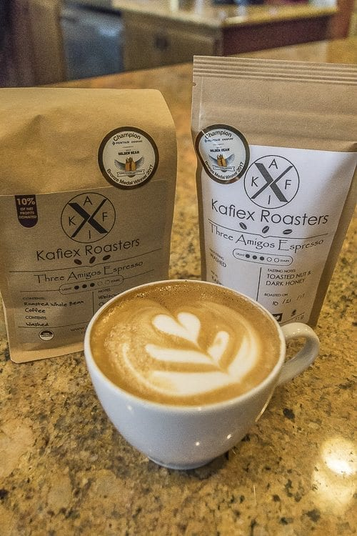 Kafiex Roasters' Three Amigos Espresso has won bronze medals in both the 2016 and 2017 Golden Bean Coffee Roasters Competition and Conference. Photo by Mike Schutlz