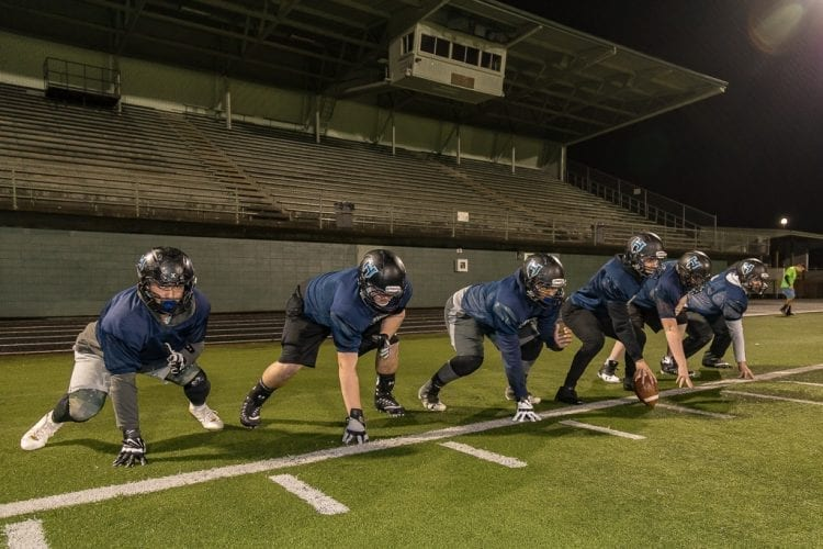 Offensive line's performance gave Hockinson the time and space to become the best Class 2A offense in the state.
