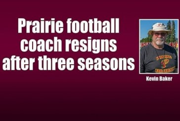 Prairie football coach resigns after three seasons