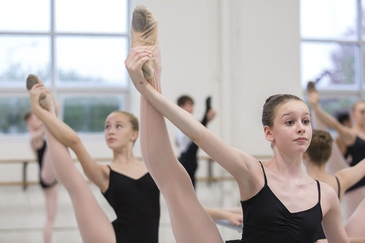 Kate Southerland is a 14-year-old Vancouver resident who has studied ballet for 11 years and is in her third year at The Portland Ballet. Photo courtesy of Blaine Truitt Covert