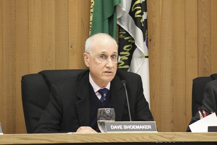 Council Member Dave Shoemaker said that it was time for the city council to take action on the issue of fireworks, which has been an increasingly pressing issue in the city according to the council member. Photo by Alex Peru