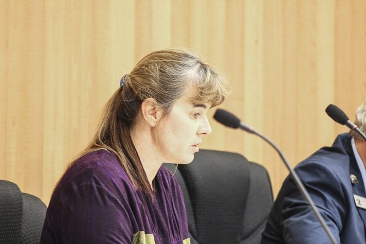 Council Member Michelle Wagner expressed her hope that the city would not ban personal fireworks, but was unable to prevent the ordinance from passing. Photo by Alex Peru