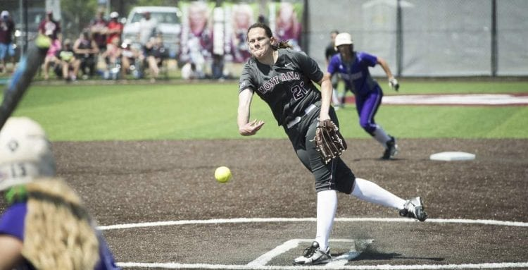 Colleen Driscoll, a 2015 graduate of Mountain View High School, has been named the Person of the Year for University of Montana athletics. Photo courtesy of GoGriz.com