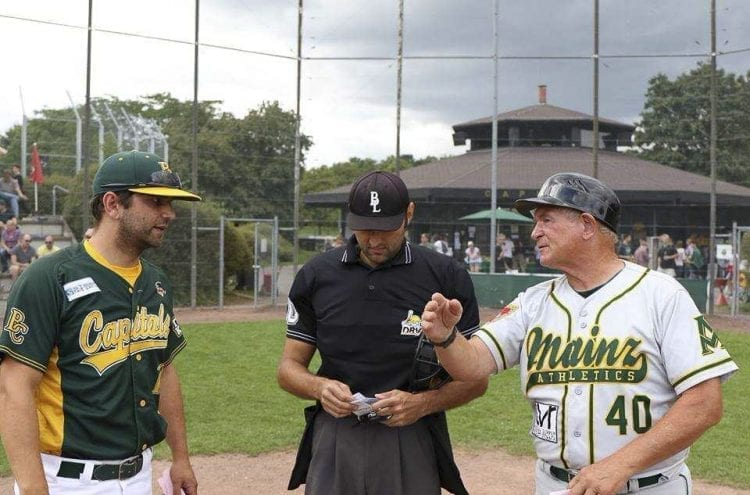 Don Freeman has spent the past four summers in Germany, coaching various teams. The Clark County resident has coached on five continents in his decades of baseball. Photo courtesy of Don Freeman