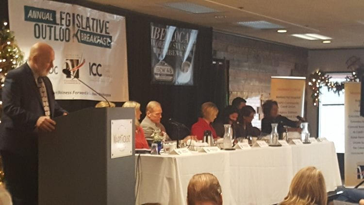 Area lawmakers gathered Friday morning in Vancouver for the annual Legislative Outlook Breakfast.