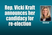 Rep. Vicki Kraft announces her candidacy for re-election