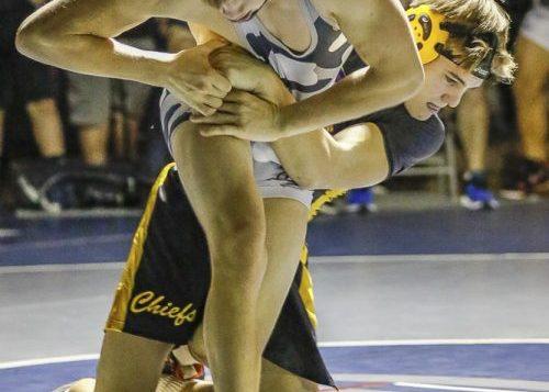 Kyle Brosius of Union defeated Logan Knudson of Columbia River