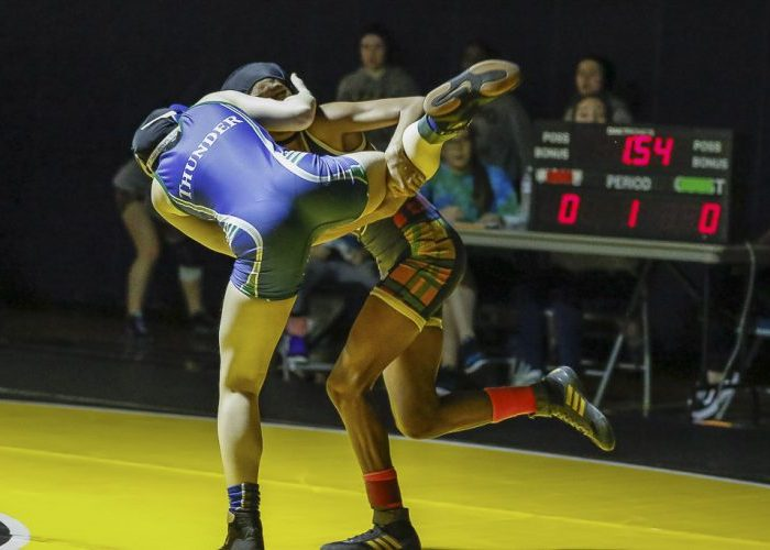 Abbie Huft of Mountain View defeated Lanae Garcia of Kelso