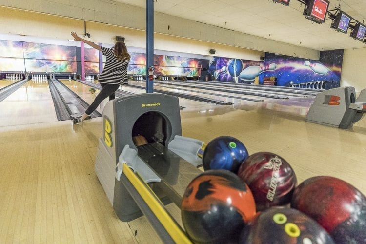 The Class 2A District 4 bowling championships are Thursday at Crosley Lanes in Vancouver. The Class 3A and 4A championships will be Friday at Crosley. Reagan Lorey of Hudson's Bay is one of the favorites to advance to state. Photo by Mike Schultz