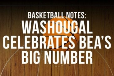 Basketball notes: Washougal celebrates Bea's big number