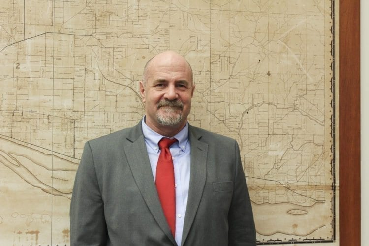 Dan Chandler, assistant county administrator for Oregon's Clackamas County, is one of two finalists in the search for a new county manager. Photo by Alex Peru