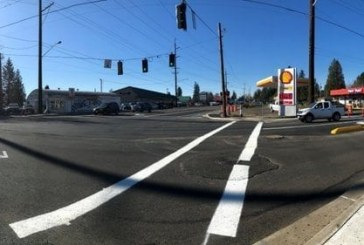 Long-delayed Washougal intersection project nears completion