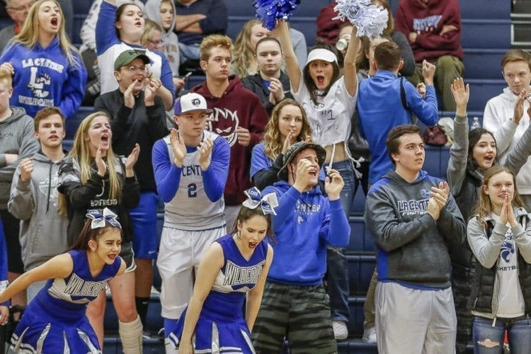 La Center basketball fans will have to travel to Longview on Friday to watch the boys team play. If they are adventurous enough, they can go to Yakima for Saturday's girls game. Regardless, they are assured of having at least one team playing next week at the Yakima Valley SunDome. Photo by Mike Schultz