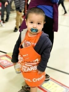 Woodland Intermediate School greatly appreciates the generosity of Home Depot in helping to make an incredibly popular event. Photo courtesy of Woodland Public Schools