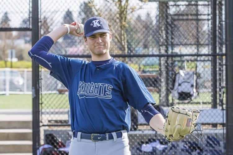 Damon Casetta-Stubbs, a senior at King's Way Christian, has signed with Seattle University. He also have his name called come draft time in June. Photo by Mike Schultz