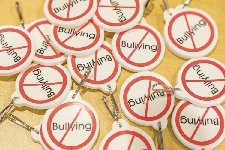 Anti-bullying was a strong theme at Wednesday's School Safety Open House in Ridgefield. Photo by Mike Schultz
