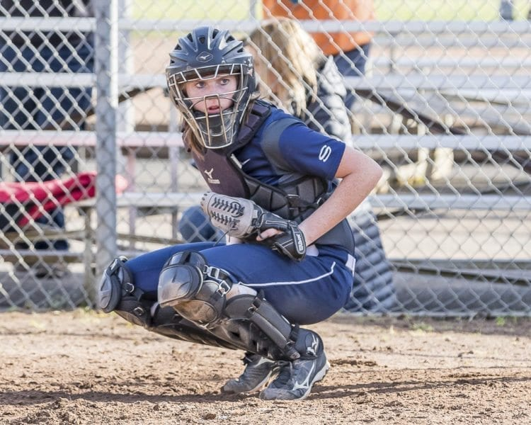 Abby Fischer, a four-year varsity starter for the Skyview Storm, has signed to play in the Pac-12 next year at Oregon State. Photo by Mike Schultz