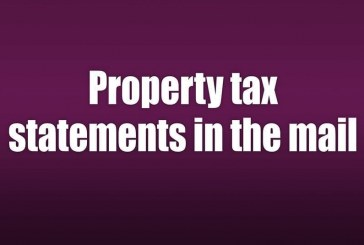 Property tax statements in the mail