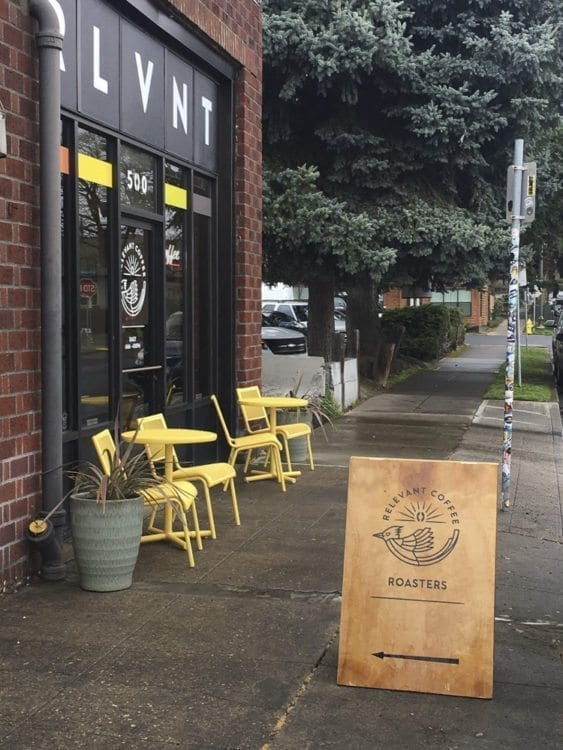 Relevant Coffee is located at 100 E. 19th Street, Ste. 500, Vancouver. Photo courtesy of Brooke Strickland