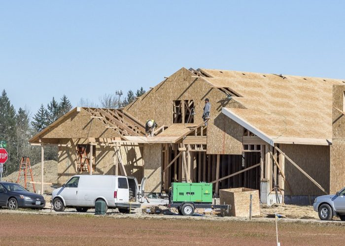 About 2,500 new homes are set to be built in Ridgefield by the end of 2024. Photo by Mike Schultz
