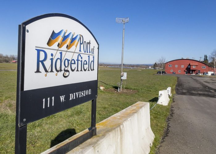 A 43-acre parcel owned by the Port of Ridgefield is slated to undergo major development in the coming years. Photo by Mike Schultz