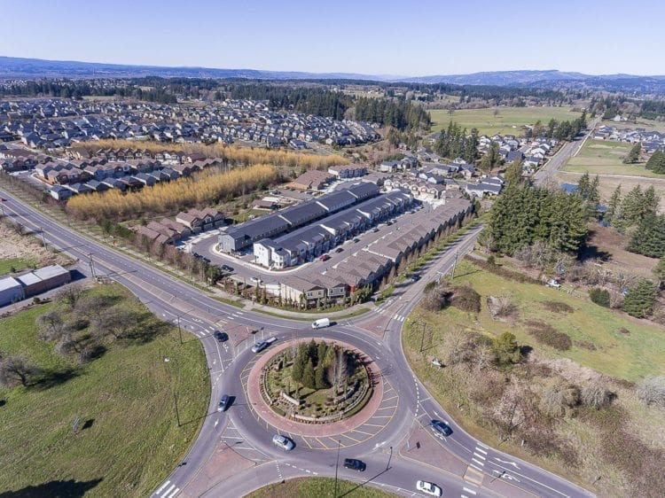 Ridgefield's growth map shows close to 2,500 new homes slated to be built within the next six years, representing roughly 7,000 new people. That would nearly double the city's current population by 2024. Photo by Mike Schultz