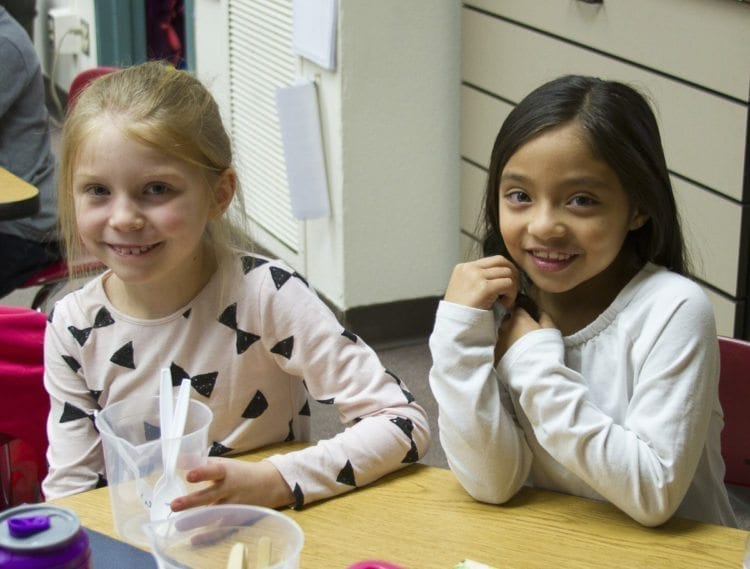 Preschool teaches socio-emotional, language, literacy, physical, and cognitive skills needed for a student's success throughout school. Photo courtesy of Woodland Public Schools