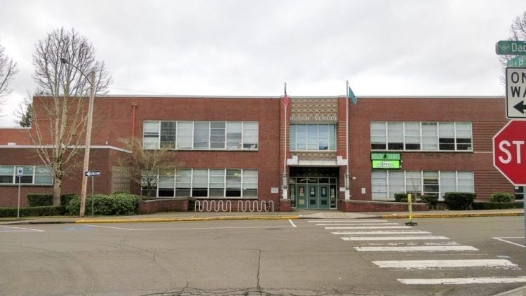 Hough Elementary School in Vancouver. Photo by Chris Brown