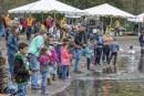 Smiles of children, uncommon volunteerism power success of Klineline Pond Fishing Derby