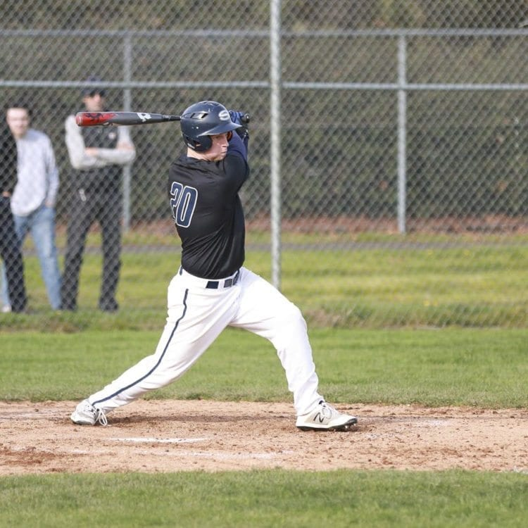 Skyview's Michael Lundgren has driven in 10 runs in the first nine games of the season. Photo courtesy of John Kerr