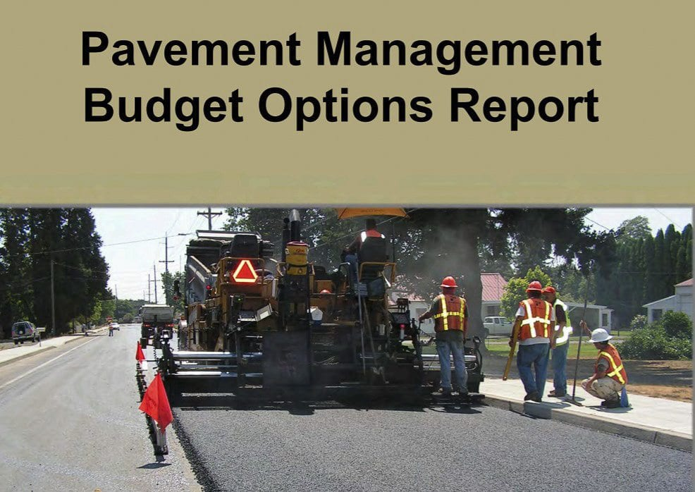 The city of Battle Ground issued a report this week detailing needed funding to fix deteriorating streets. Photo courtesy city of Battle Ground