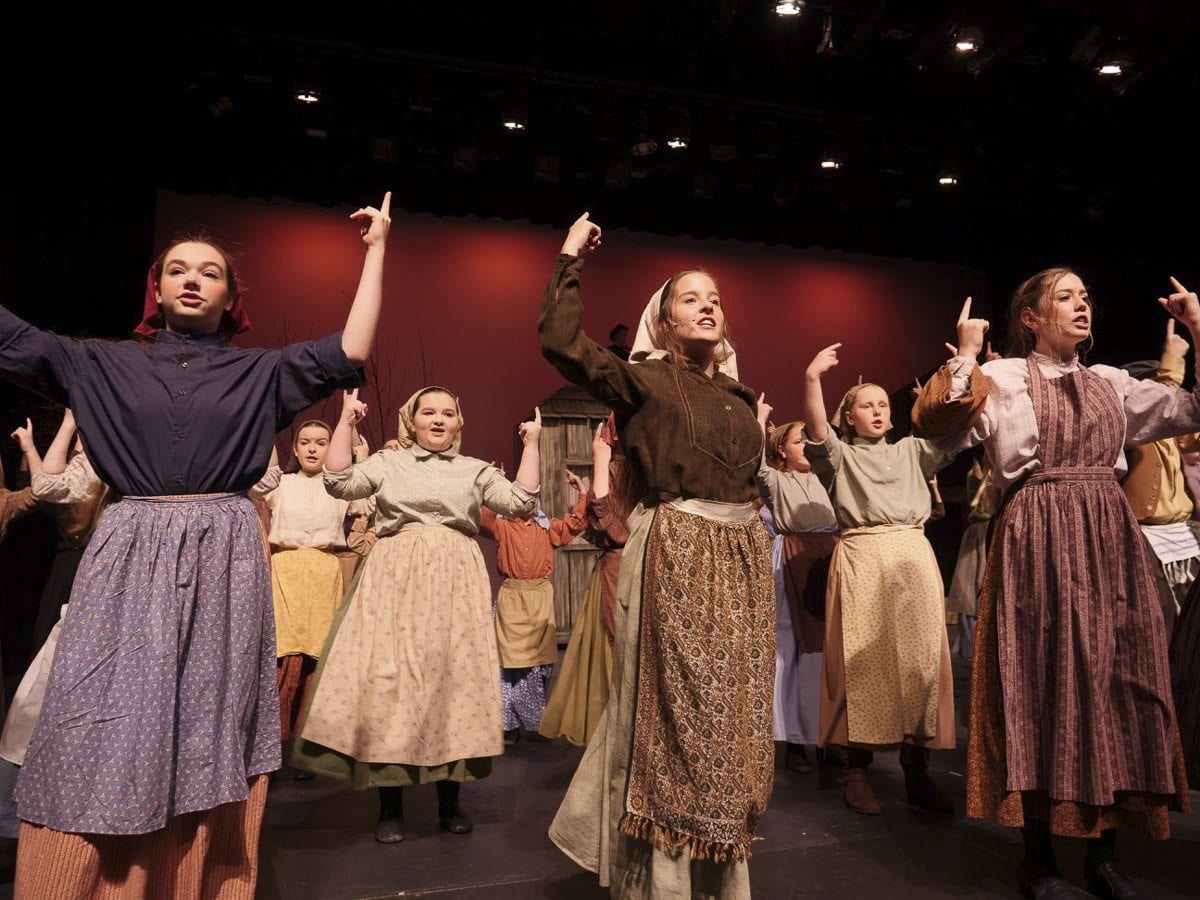 "Journey Theater Arts Group describes their productions as ""professional-quality"" musicals, and entire families are often involved in bringing a show successfully to the stage. Photo courtesy of Journey Theater Arts Group"